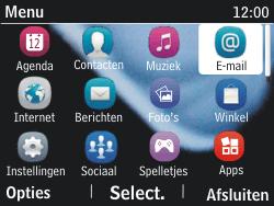 Nokia Asha 201 - E-mail - hoe te versturen - Stap 3