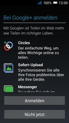 Alcatel Pop C7 - Apps - Konto anlegen und einrichten - 2 / 2