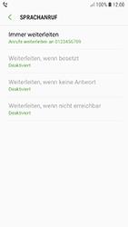 Samsung Galaxy A5 (2017) - Android Oreo - Anrufe - Rufumleitungen setzen und löschen - Schritt 13