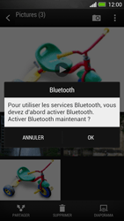 HTC One - Photos, vidéos, musique - Envoyer une photo via Bluetooth - Étape 13