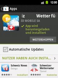 Samsung Galaxy Y - Apps - Installieren von Apps - Schritt 16