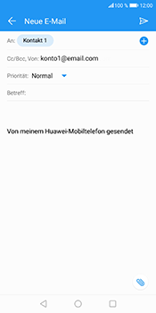 Huawei Honor 9 Lite - E-Mail - E-Mail versenden - 8 / 18