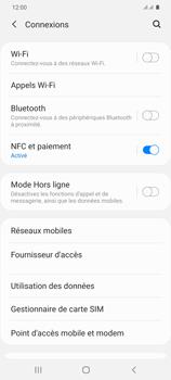 Samsung Galaxy S20 Plus 5G - WiFi - Configuration du WiFi - Étape 5