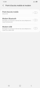 Samsung Galaxy S20 Ultra - Internet et connexion - Utiliser le mode modem par USB - Étape 9
