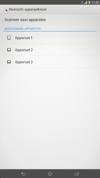 Sony C6833 Xperia Z Ultra LTE - Contactgegevens overzetten - delen via Bluetooth - Stap 11