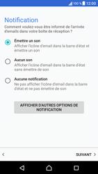 Sony Xperia X - E-mails - Ajouter ou modifier un compte e-mail - Étape 21