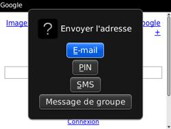 BlackBerry 9300 Curve 3G - Internet - Navigation sur Internet - Étape 13