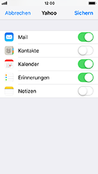 Apple iPhone 5s - E-Mail - Konto einrichten (yahoo) - 8 / 11