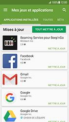 Samsung Galaxy S7 - Android N - Applications - Comment vérifier les mises à jour des applications - Étape 7