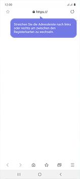 Samsung Galaxy A51 - Internet und Datenroaming - Verwenden des Internets - Schritt 17