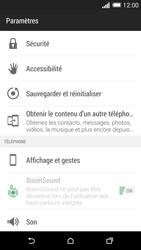 HTC One M8 - Téléphone mobile - Réinitialisation de la configuration d