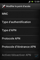 Sony ST21i Xperia Tipo - MMS - Configuration manuelle - Étape 13