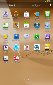 Samsung Galaxy Note 8-0 - Apps - Herunterladen - 0 / 0