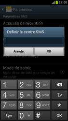 Samsung I9300 Galaxy S III - SMS - configuration manuelle - Étape 6