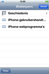 Apple iPhone 4S met iOS 5 (Model A1387) - Internet - Hoe te internetten - Stap 2