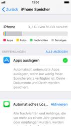 Apple iPhone 5s - Apps - Automatisches Entfernen nicht genutzter Apps aktivieren - 2 / 2