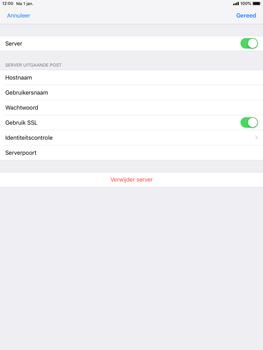Apple ipad-9-7-ios-12 - E-mail - Account instellen (POP3 met SMTP-verificatie) - Stap 18