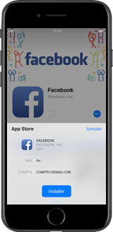 Apple iPhone 8 - Applications - Configuration de votre store d
