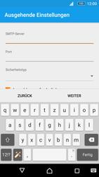 Sony E5603 Xperia M5 - E-Mail - Konto einrichten - Schritt 16