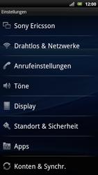 Sony Ericsson Xperia Arc S - WLAN - Manuelle Konfiguration - Schritt 4
