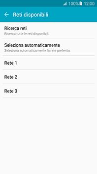 Samsung Galaxy A8 - Rete - Selezione manuale della rete - Fase 8