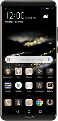 Huawei Mate 10 Pro - Android Pie - Dispositivo - Come eseguire un soft reset - Fase 2
