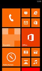 Nokia Lumia 820 / Lumia 920 - Netzwerk - Manuelle Netzwerkwahl - Schritt 1