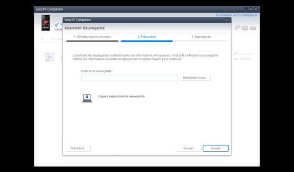 Sony Xperia Z - Logiciels - Comment effectuer une sauvegarde de votre appareil - Étape 8