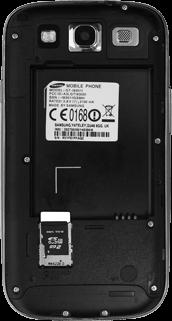 Samsung I9301i Galaxy S III Neo - SIM-Karte - Einlegen - Schritt 3