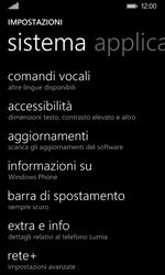 Nokia Lumia 635 - Dispositivo - Ripristino delle impostazioni originali - Fase 5