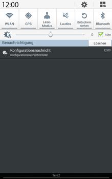 Samsung Galaxy Tab 3 8-0 LTE - MMS - Automatische Konfiguration - 5 / 11