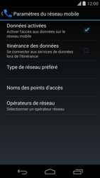 LG D821 Google Nexus 5 - Internet - activer ou désactiver - Étape 6