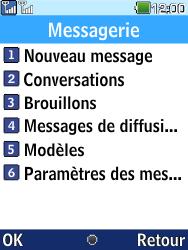 LG G359 - Contact, Appels, SMS/MMS - Envoyer un MMS - Étape 4