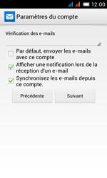 Alcatel One Touch Pop C3 - E-mail - configuration manuelle - Étape 26