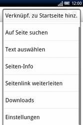 Sony Ericsson Xperia X8 - Internet - Manuelle Konfiguration - 19 / 23