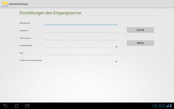 Asus Padfone - E-Mail - Konto einrichten - Schritt 11