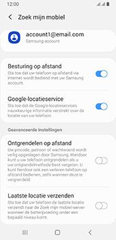 Samsung galaxy-a8-2018-sm-a530f-android-pie - Beveiliging en ouderlijk toezicht - Zoek mijn mobiel inschakelen - Stap 8