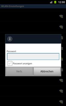 Samsung Galaxy Note - WLAN - Manuelle Konfiguration - 1 / 1