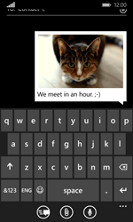 Microsoft Lumia 435 - MMS - Sending pictures - Step 13