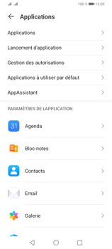 Huawei Y6P - Applications - Supprimer une application - Étape 4