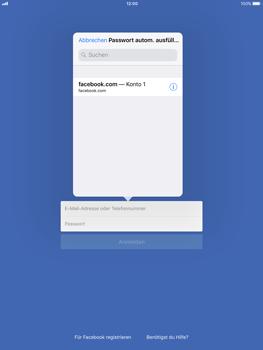 Apple iPad Pro 9.7 inch - iOS 11 - Automatisches Ausfüllen der Anmeldedaten - 6 / 7