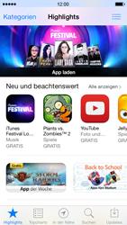 Apple iPhone 5 - Apps - Konto anlegen und einrichten - 14 / 36