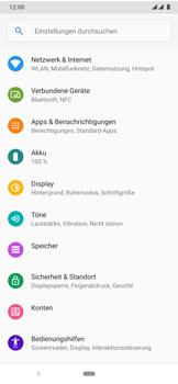 Nokia 7.2 - Netzwerk - Manuelle Netzwerkwahl - Schritt 4