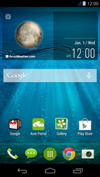 Acer Liquid Jade - MMS - Manual configuration - Step 1