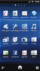 Sony Ericsson Xperia Arc S - Buitenland - Bellen, sms en internet - Stap 4