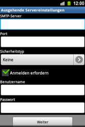 Samsung Galaxy Ace - E-Mail - Konto einrichten - 2 / 2