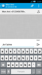 Bouygues Telecom Bs 471 - Contact, Appels, SMS/MMS - Envoyer un SMS - Étape 9