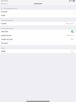 Apple ipad-pro-12-9-inch-2018-model-a1895 - E-mail - Account instellen (POP3 zonder SMTP-verificatie) - Stap 22