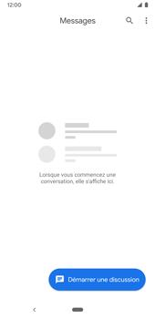 Google Pixel 3a - Contact, Appels, SMS/MMS - Envoyer un MMS - Étape 4