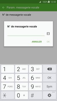 Samsung G928F Galaxy S6 Edge + - Messagerie vocale - Configuration manuelle - Étape 8